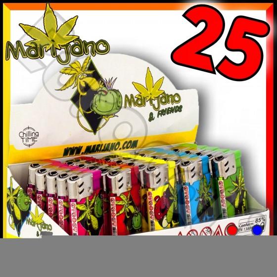 Ciao Big Fantasia Marijano - Box da 25 Accendini