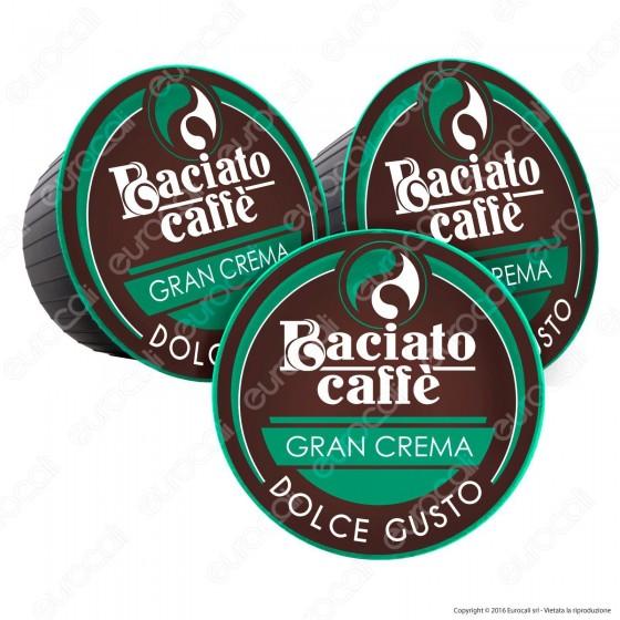80 Capsule Baciato Caffè Gran Crema Cialde Compatibili Nescafè Dolce Gusto