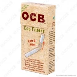 Ocb ExtraSlim 5,7mm Biodegradabili 100% Eco - Scatolina da 120 Filtri