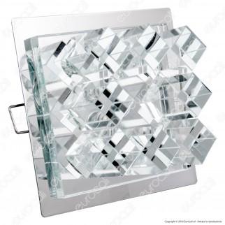 Kanlux CANTA CTX-DS20 Porta Lampadine Quadrato da Incasso per Lampadine G4