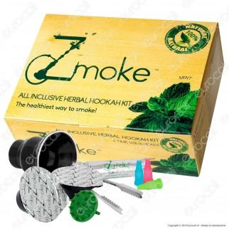 Zmoke Mint - Kit Capsule per Narghilè gusto Menta