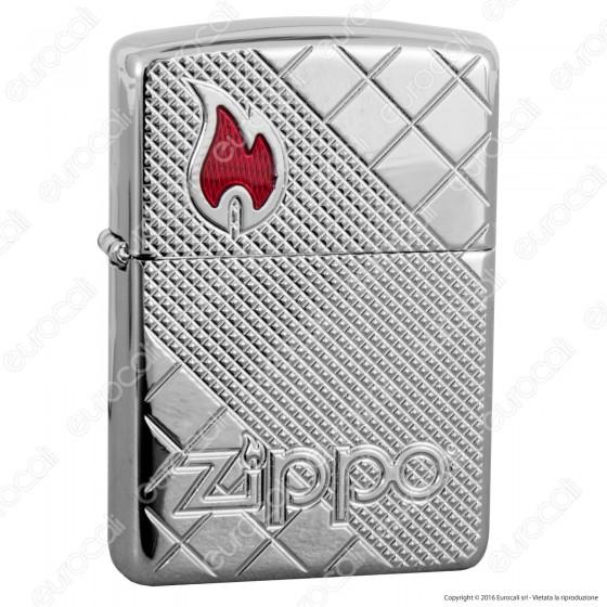 Accendino Zippo Mod. 29098 Armor - Tile Mosaic - Ricaricabile Antivento