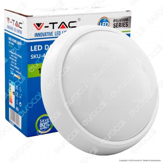 V-Tac VT-8015 Plafoniera LED 12W Forma Rotonda Colore Bianca - SKU 4998 / 4996