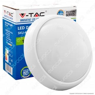 V-Tac VT-8015 Plafoniera LED 12W Forma Circolare Colore Bianco - SKU 4998 / 5050 / 4996