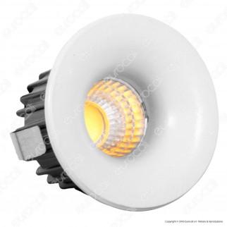 V-Tac VT-1123 RD Faretto LED da Incasso Rotondo 3W COB - SKU 5098 / 5099 / 5107