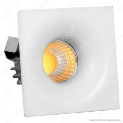 V-Tac VT-1123 SQ Faretto LED da Incasso Quadrato 3W COB - SKU 5108 / 5109 / 5110