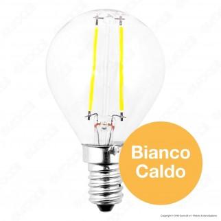 V-Tac VT-1896 Lampadina LED E14 2W MiniGlobo Filamento P45 - SKU 4262