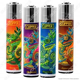 Clipper Large Fantasia Chameleon - 4 Accendini