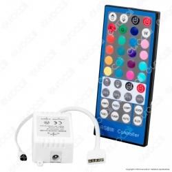 V-Tac Controller per Strisce LED RGBW con Telecomando 40 Tasti - SKU 3326
