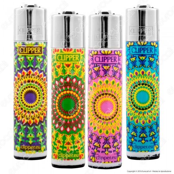 Clipper Large Fantasia Hippie Power 1 - 4 Accendini