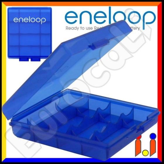 Sanyo Eneloop Box Portabatterie Per Pile Stilo (AA) o Ministilo (AAA) - 1 Pezzo