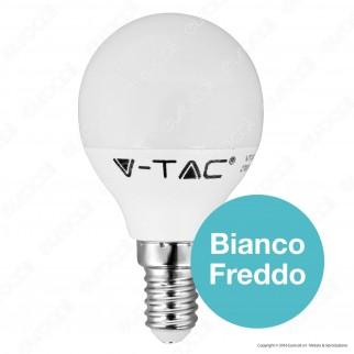 V-Tac VT-1880 Lampadina LED E14 6W MiniGlobo P45 - SKU 4250 / 4251 / 4252