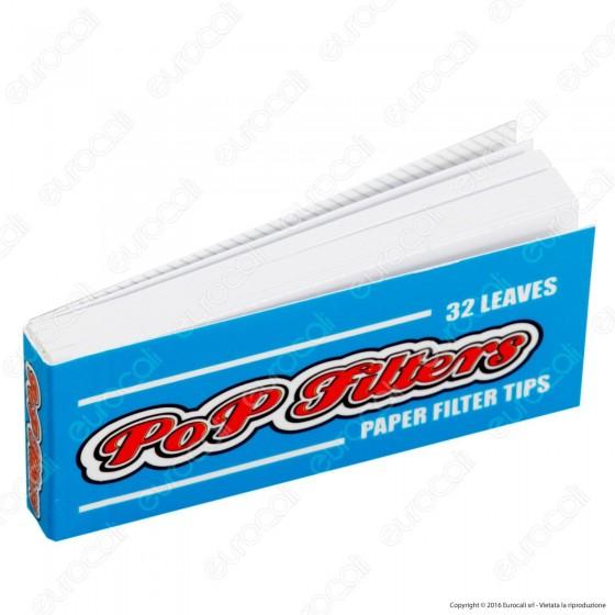 Pop FIlters Filtri In Carta - Scatola da 50 Blocchetti
