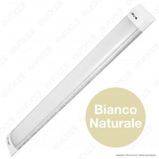 V-Tac VT-8020 Tubo LED Prismatico Plafoniera 20W Lampadina 60cm - SKU 4991 / 4992