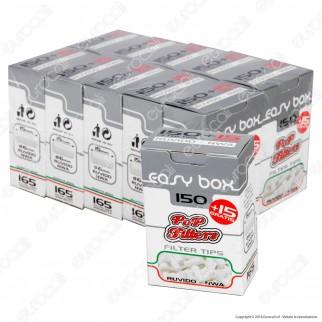Pop Filters Slim 6mm Ruvidi - Box 10 Scatoline da 165 Filtri