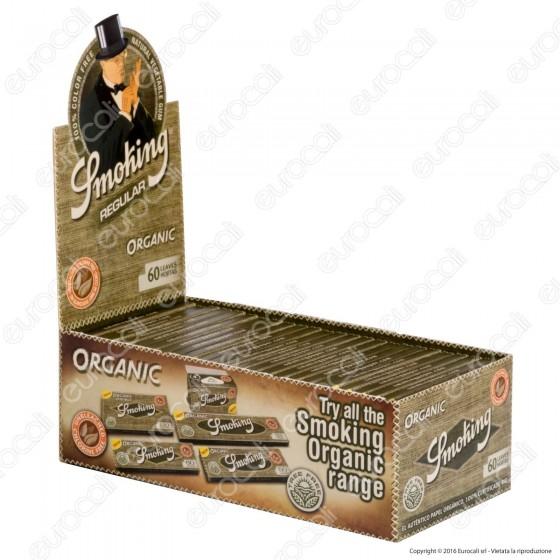Cartine Smokng Organic Corte 100% Bio - Scatola da 50 Libretti