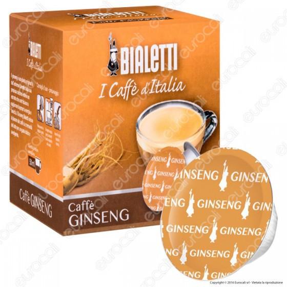 12 Capsule Caffè Bialetti Gingseng Cialde Originali Bialetti