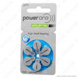 Powerone Misura 675 - Blister 6 Batterie per Protesi Acustiche