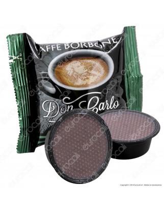50 Capsule Caffè Borbone Don Carlo Miscela Blu - Cialde Compatibili Lavazza A Modo Mio