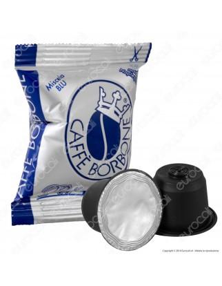 50 Capsule Caffè Borbone Respresso Miscela Blu - Cialde Compatibili Nespresso
