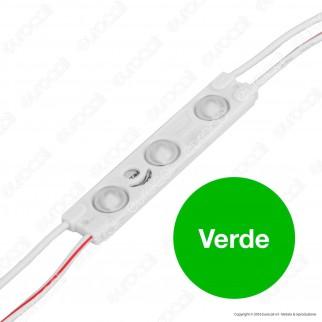 V-Tac VT-28353 Modulo 3 LED 1W 12V Monocolore Impermeabile - SKU 5121 / 5122 / 5123