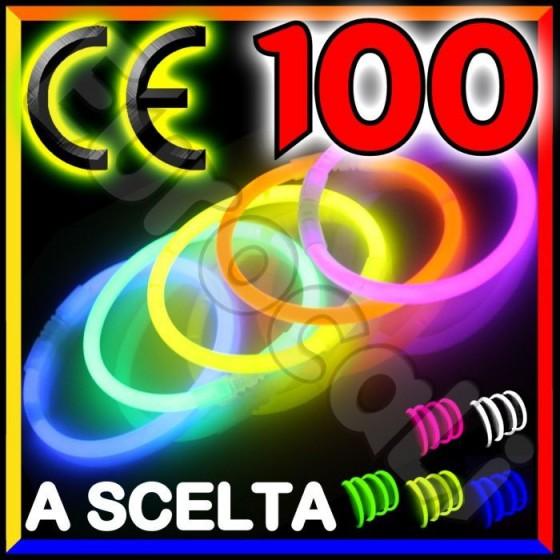Braccialetti Luminosi Starlight - Tubo da 100 Bracciali