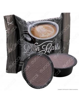 50 Capsule Caffè Borbone Don Carlo Miscela Nera - Cialde Compatibili Lavazza A Modo Mio