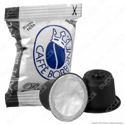 50 Capsule Caffè Borbone Respresso Miscela Nera - Cialde Compatibili Nespresso