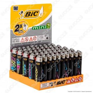 Bic Mini J25 Colori Pastello - Box da 50 Accendini