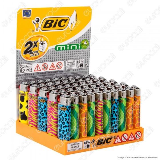 Bic Mini J25 Fantasia Neon - Box da 50 Accendini