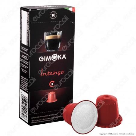 10 Capsule Caffè Gimoka Intenso Cialde Compatibili Nespresso