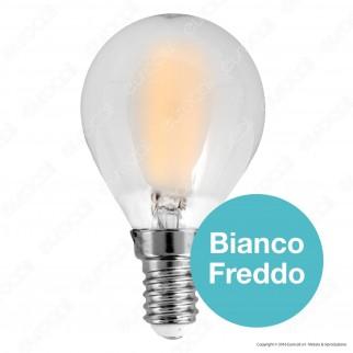 V-Tac VT-1835 Lampadina LED E14 4W Bulb P45 Frost Filamento - SKU 4492 / 4493