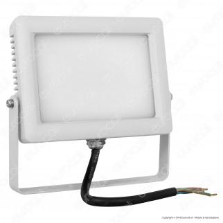 Wiva Faretto LED SMD 30W Ultra Sottile Colore Bianco Con Schermo Opale IP65