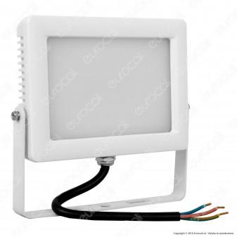 Wiva Faretto LED SMD 20W Ultra Sottile Colore Bianco Con Schermo Opale IP65