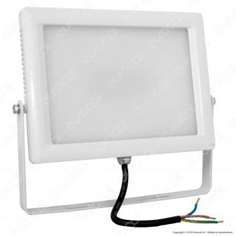 Wiva Faretto LED SMD 50W Ultra Sottile Colore Bianco Con Schermo Opale IP65