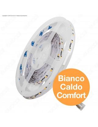 Wiva Striscia LED 2835 Impermeabile Monocolore 60 LED/metro CRI 97 - Bobina da 5 metri