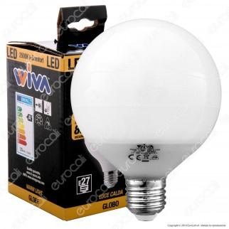 Wiva Lampadina LED E27 15W Globo G95 - mod. 12100292