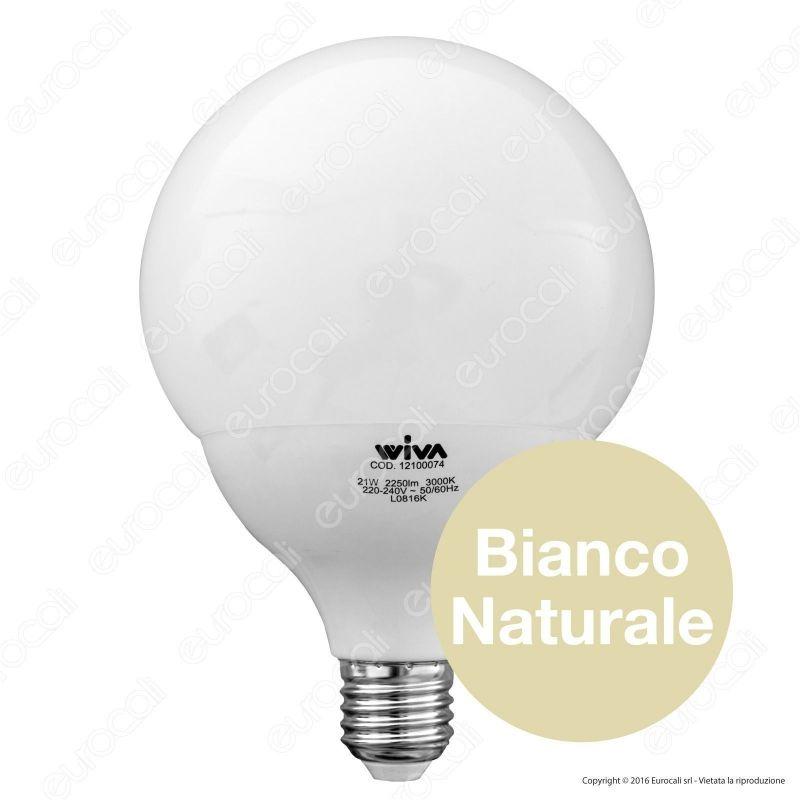 lampadina globo led : ... Illuminazione > Lampadine LED > Wiva Lampadina LED E27 21W Globo G120