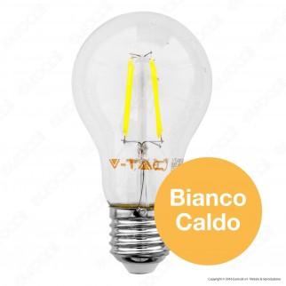 V-Tac VT-1885 Lampadina LED E27 4W Bulb A60 Filamento - SKU 4259 / 7119 / 7120