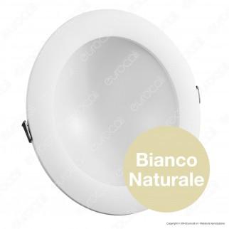 Wiva Pannello LED mod. ELBA da Incasso Rotondo 16W con Driver