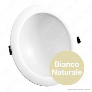 Wiva Pannello LED mod. ELBA da Incasso Rotondo 22W con Driver