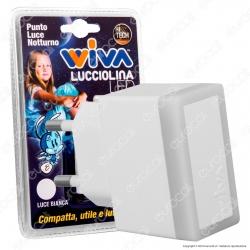 Wiva Punto Luce LED Notturno Lucciolina - mod. 31501307 / 31501308