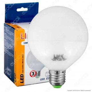 Life Serie GF Lampadina LED E27 15W Globo G95 - mod. 39.920397C / 39.920397N / 39.920397F