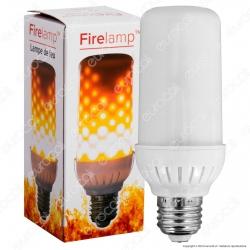 Firelamp Lampadina LED E27 4W 99 LED Copertura Opaca