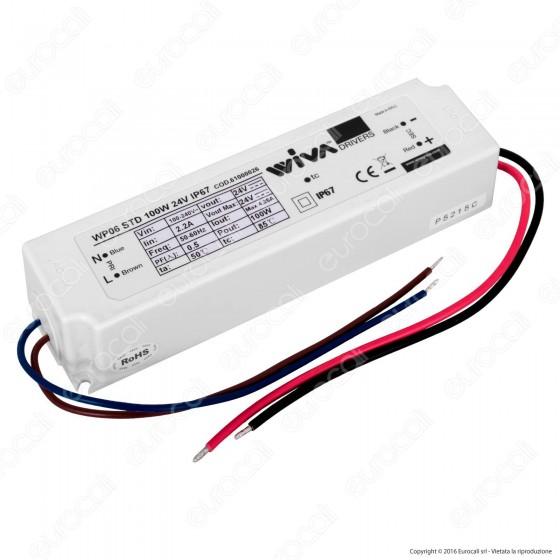 Wiva Alimentatore 100W per LED 24V IP67