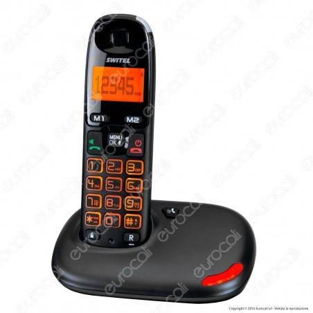 Switel Vita DC 5001 Telefono Cordless per Portatori di Apparecchi Acustici