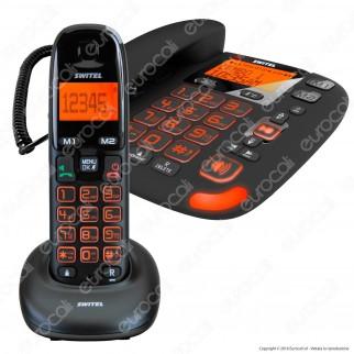 Switel Vita DCT 50072 Combo Telefono Fisso con Segreteria e Cordless per Portatore di Apparecchi Acustici