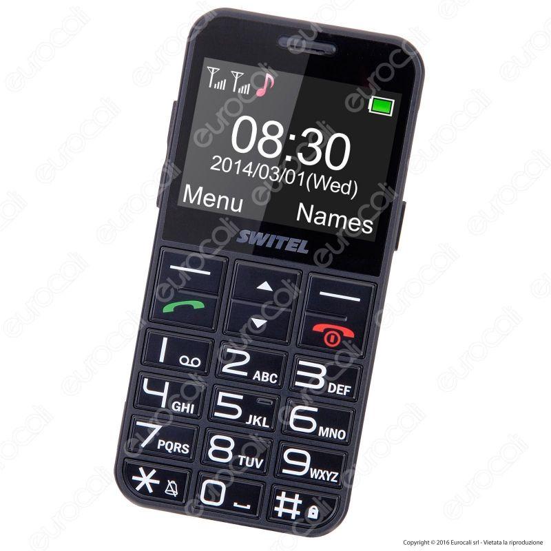 Switel m190 mobile telefono cellulare smartphone per ipoudenti for Mobile telefono