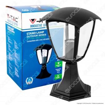 V-Tac VT-734 Portalampada da Giardino con Fissaggio a Terra per Lampadine E27 - SKU 7057