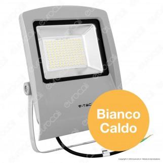 V-Tac VT-4734 Faretto LED FloodLight SMD 30W da Esterno Colore Grigio - SKU 5661 / 5663